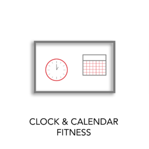 clock calendar fitness