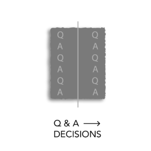 q and a decisions